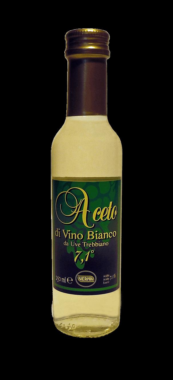Aceto di Vino Bianco da Uve Trebbiano - 250 ml