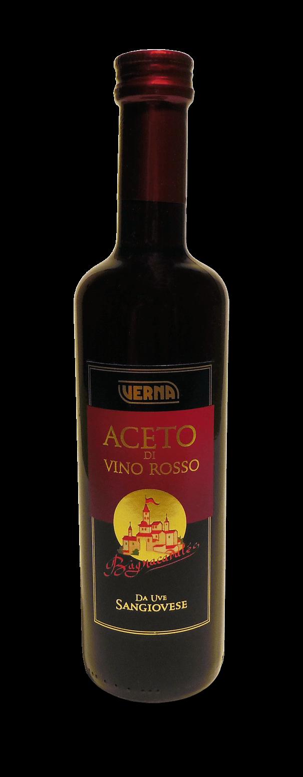 Aceto di Vino Rosso da Uve Sangiovese - Bagnacavales - 500 ml