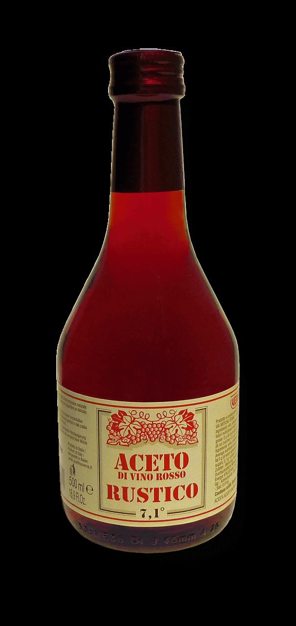 Aceto di Vino Rosso - Rustico - 500 ml