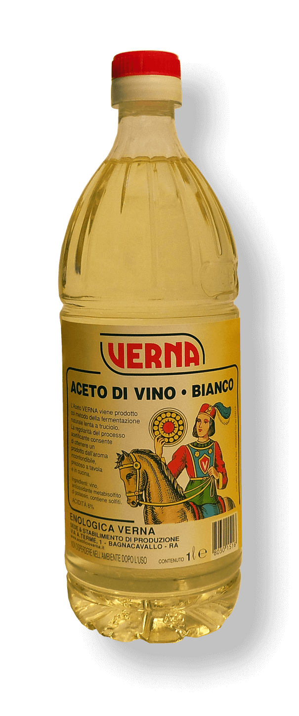 Aceto di Vino Bianco - 1000 ml - PET