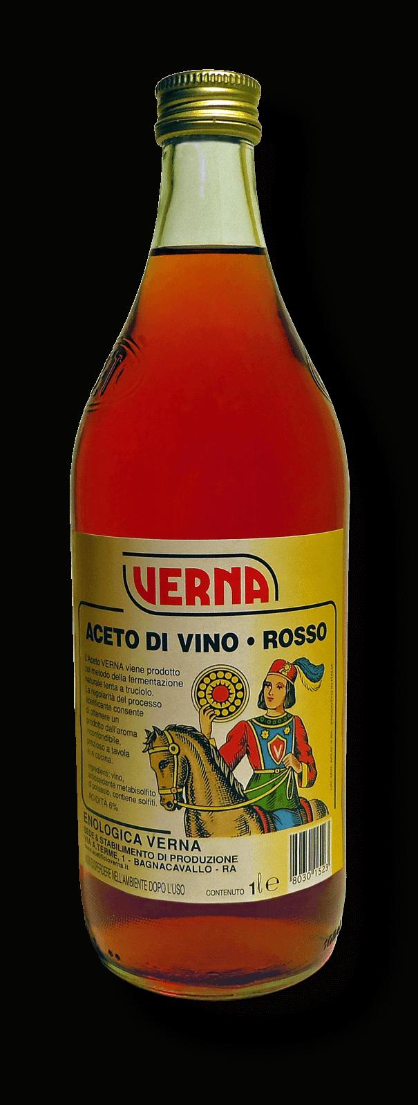 Aceto di Vino Rosso - 1000 ml